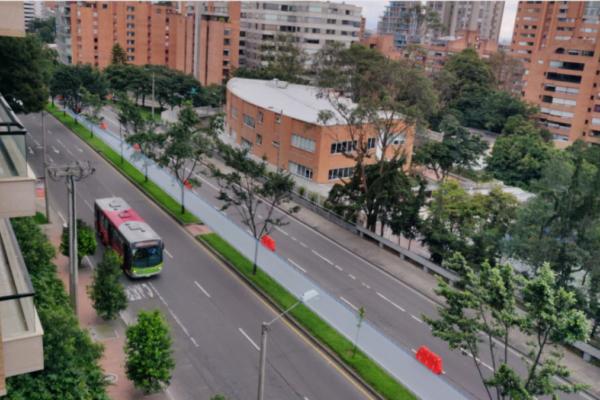 Bogota - Capture d'écran site de la CEREMA